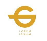 G Logo Design Concept Images libres de droits