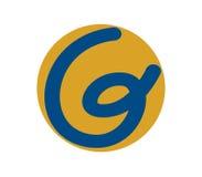 G Logo Design Concept Photographie stock