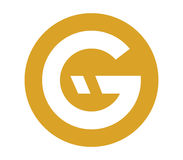G Logo Design Concept Photos libres de droits