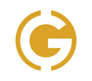 G Logo Design Concept Photographie stock libre de droits