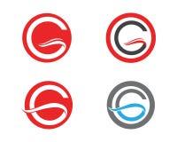 G-logo och symbolmallsymboler Royaltyfri Foto