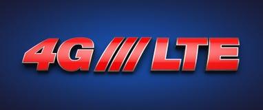 4G LTE Image libre de droits