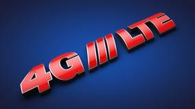 4G LTE Fotografia Stock Libera da Diritti
