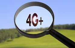 4g lte technology Royalty Free Stock Images