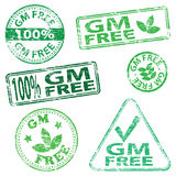 G M Free Stamps Royalty Free Stock Images