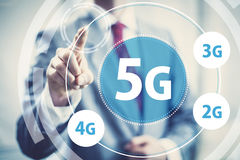 5g mobile data Royalty Free Stock Photo