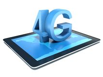 4G mobile telephony Stock Images