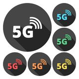 5g mode technology icon. Vector icon stock illustration