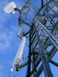 G-/Mreciver Turm, technican Bergsteiger Stockfotografie