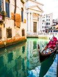 Gôndola de Veneza Fotografia de Stock Royalty Free