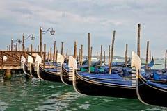 Gôndola de Veneza, Italy fotos de stock