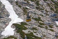 Gôndola do Ropeway de Dachstein Imagem de Stock Royalty Free
