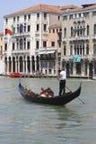 Gôndola em Veneza Fotografia de Stock