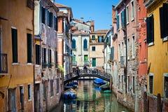 Gôndola em Veneza, Italy Imagem de Stock