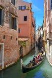 G?ndola en Venecia fotografía de archivo