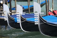 Gôndola três ferro Fotografia de Stock