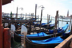 Gôndola Venetian Foto de Stock Royalty Free