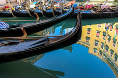 Gôndola Venetian românticas bonitas Imagem de Stock Royalty Free
