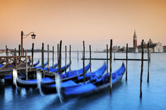 Gôndola, Veneza Imagem de Stock