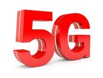 5G netwerk Stock Afbeelding
