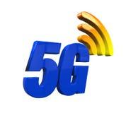 5G netwerkpictogram Stock Afbeelding