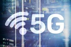 5G Network, 5G internet Connection Concept in digital background. Smart communication network concept. 5G Network, 5G internet Connection Concept in digital stock illustration