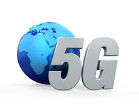 5G Network Icon Stock Photos