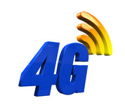 4G Network Icon Stock Images