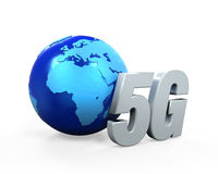 5G Network Icon Royalty Free Stock Images