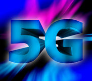 5G network symbol Royalty Free Stock Image