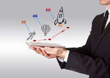 5g network tehnology concept royalty free stock photo