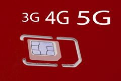 5G new wireless internet wifi connection on cars light trails at night royalty free stock photography