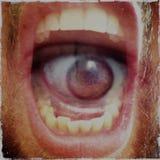 Głodny usta Zdjęcie Stock