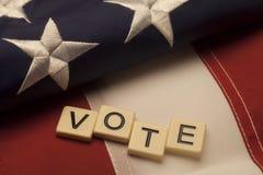 głosowania fotografia royalty free