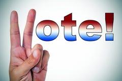 Głosowanie! Obraz Stock