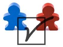 głosowanie Zdjęcie Stock