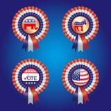 Głosowanie dla Ameryka faborku Obrazy Royalty Free