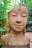 Głowa Buddha obrazy stock