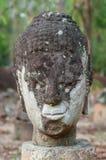 Głowa Buddha wizerunek przy Watem U-Mong Zdjęcie Royalty Free