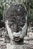 Głowa Buddha wizerunek przy Watem U-Mong Fotografia Royalty Free