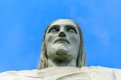 Głowa Chrystus odkupiciel, Rio De Janeiro zdjęcia royalty free