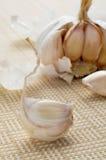 Głowa garlics Zdjęcia Royalty Free