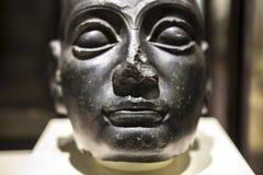 Głowa Gudea, sumerian sztuka Obraz Royalty Free
