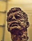 Głowa John F Kennedy prezydent usa Zdjęcie Stock
