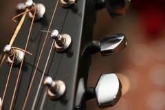 głowa na gitarze Fotografia Stock