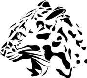 Głowa pantera kot Ilustracja Wektor