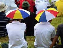 głowa parasole Obrazy Royalty Free