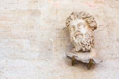 Głowa Triton od Odeon Fotografia Stock