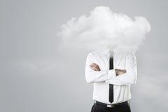 Głowa w chmurach Zdjęcie Stock