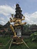 9 głowiasty indonezyjski bóg Obrazy Royalty Free